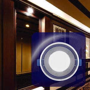 پنل led دور شیشه ای (یکتا افروز)