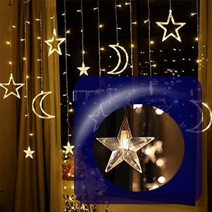 ریسه ماه و ستاره led (یکتا افروز)