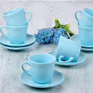 فنجان و نعلبکی (کرامیکا)