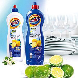 مایع ظرفشویی (سولو)