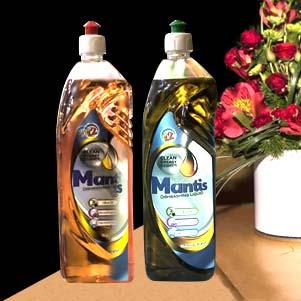 مایع ظرفشویی (مانتیس)