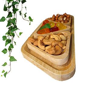 اردو خوری چوبی بامبو (بلوط)