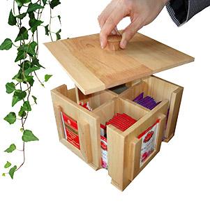 باکس تی بگ چوبی (بلوط)