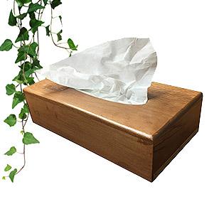 جای دستمال کاغذی چوبی (بلوط)