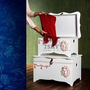 صندوقچه لباس چوبی (سون اسکای)