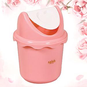 سطل زباله بادبزنی (صالح پلاستیک)
