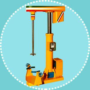 دستگاه همزن رنگ هیدرولیکی (باتیال)