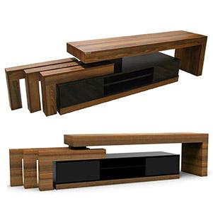 میز تلویزیون 160 سانتی (رسا چوب)