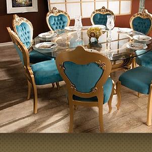 میز و صندلی پلیمری تالار (ماندگار)