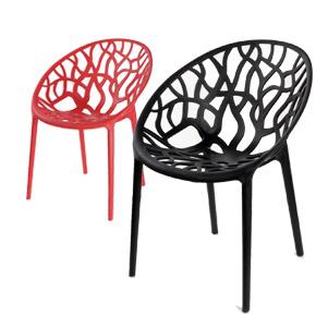 صندلی رستورانی پلاستیکی (نگین)