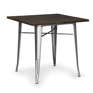 میز پایه فلزی رستورانی (نگین)