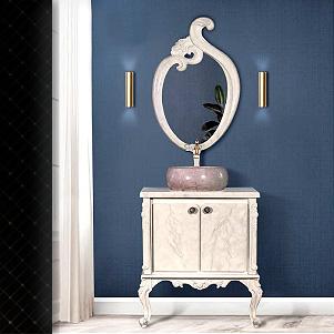 ست روشویی کلاسیک PVC (باروس)