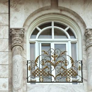 حفاظ پنجره و بالکن فرفورژه (کاوه)