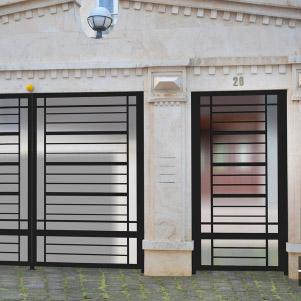 درب فلزی مدرن (کاوه)