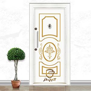 درب ضد سرقت پانل (کیپ در)