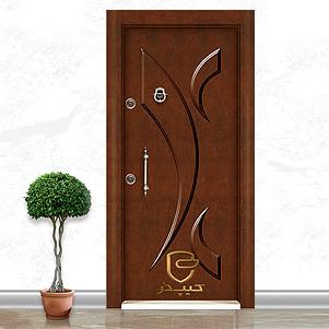 درب ضد سرقت نیم برجسته (کیپ در)