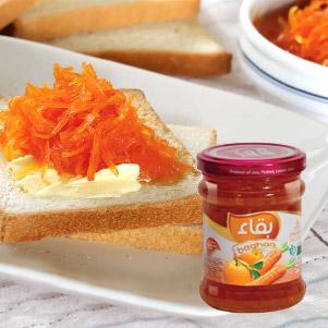 مربا هویج پرتقال (بقا)