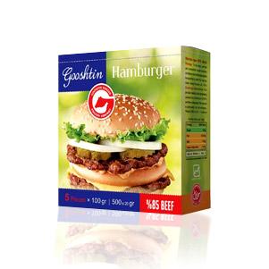 همبرگر اماده (گوشتین)
