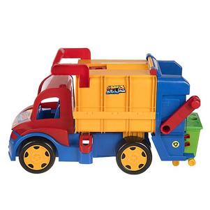 کامیون زباله اسباب بازی (زرین تویز)