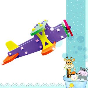 پازل سه بعدی هواپیما (پازلکده)