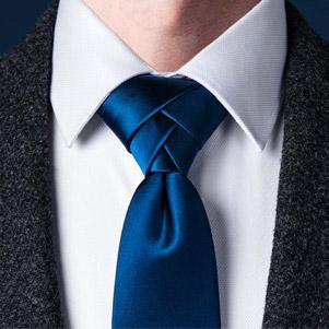 کراوات ساده مردانه (پاترون)