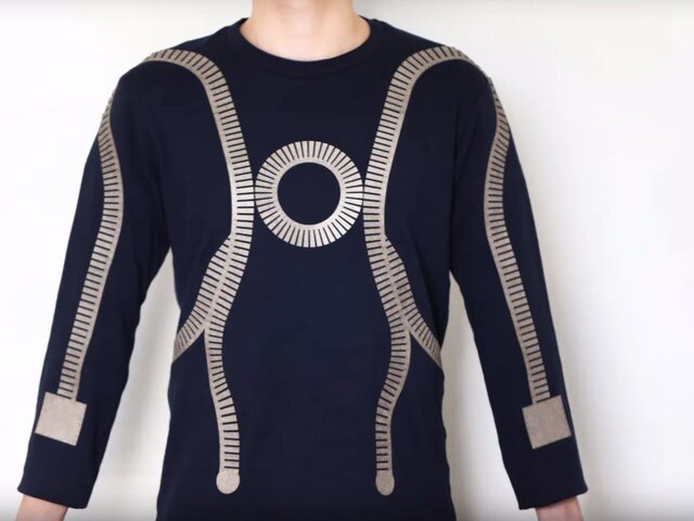 لباس هوشمند برای کنترل سلامت انسان