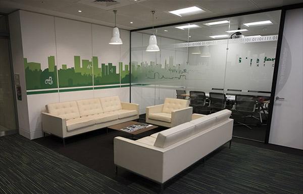 سیستم روشنایی ساختمان اداری