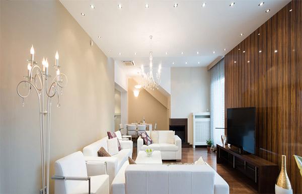 سیستم روشنایی ساختمان مسکونی