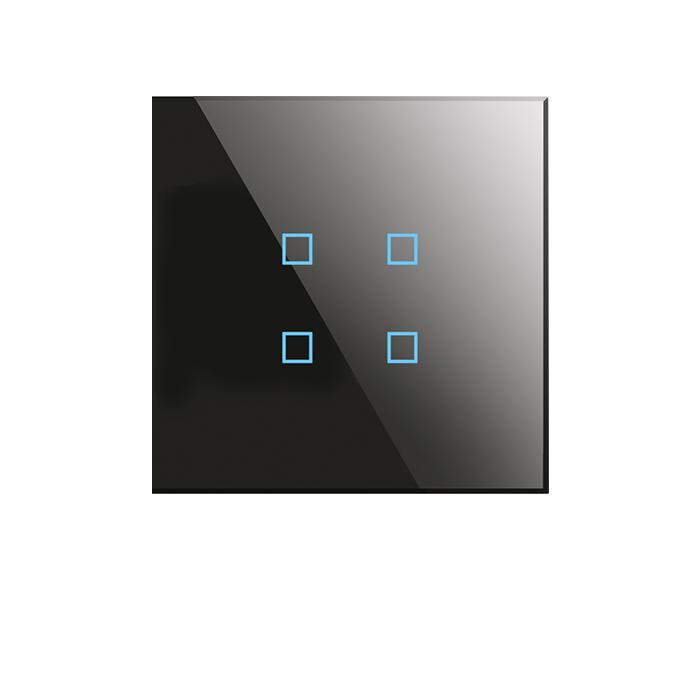 کلید 4 پل KRISTAL BX-Q04B-W
