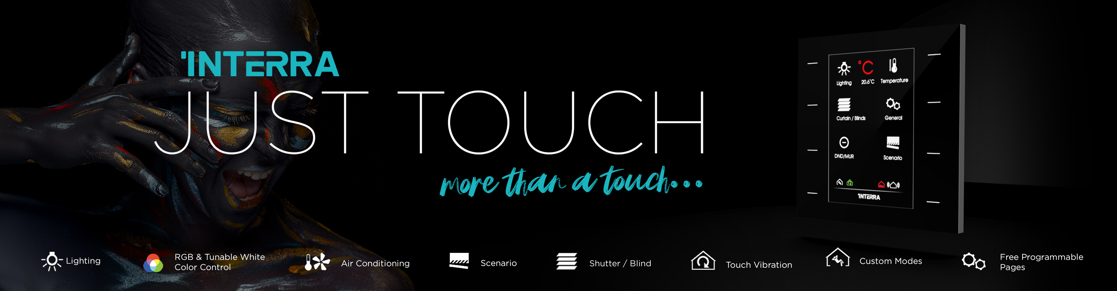just touch interra