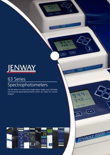 اسپکتروفتومترجنوی6305 spectrophotometer 6305 jenway