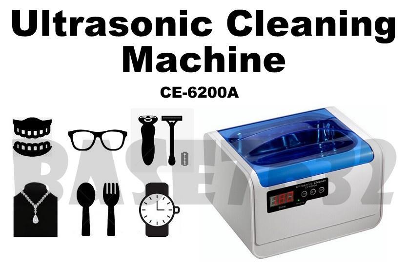 التراسونیک 1/5 لیتری التراسونیک شستشو برد دیجیتال