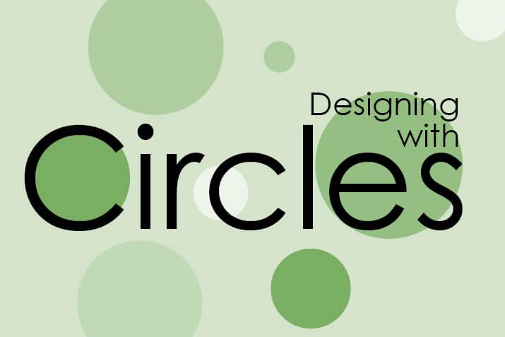 شکل دایره در طراحی سایت