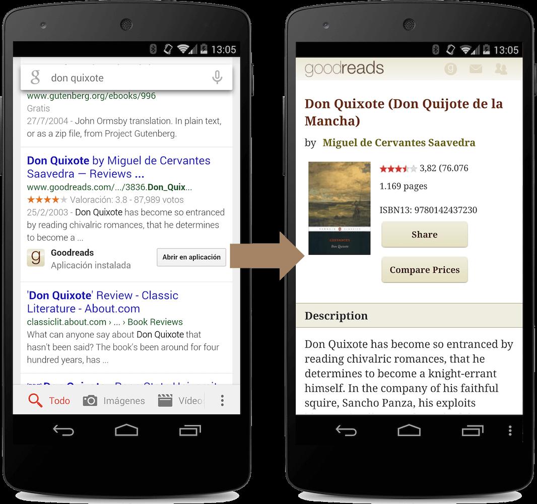 آپدیت های ایندکس دهی App