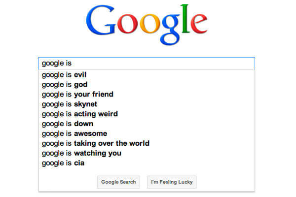 آپدیت autocomplete گوگل