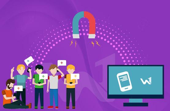 تاثیر پیامک تبلیغاتی بر روند افزایش بازدید از سایت