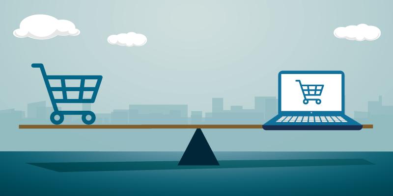تفاوت بین فروشگاه اینترنتی و فروشگاه فیزیکی چیست؟