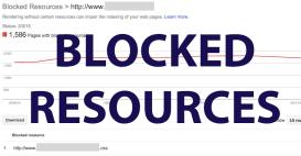 غیر بلاک کردن منابع با Webmaster Tools