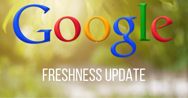 با الگوریتم freshness گوگل آشنا شوید