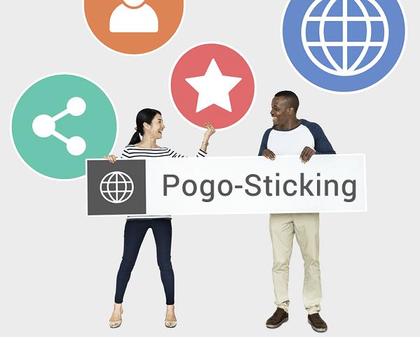 pogo sticking، یک فاکتور منفی در سئو