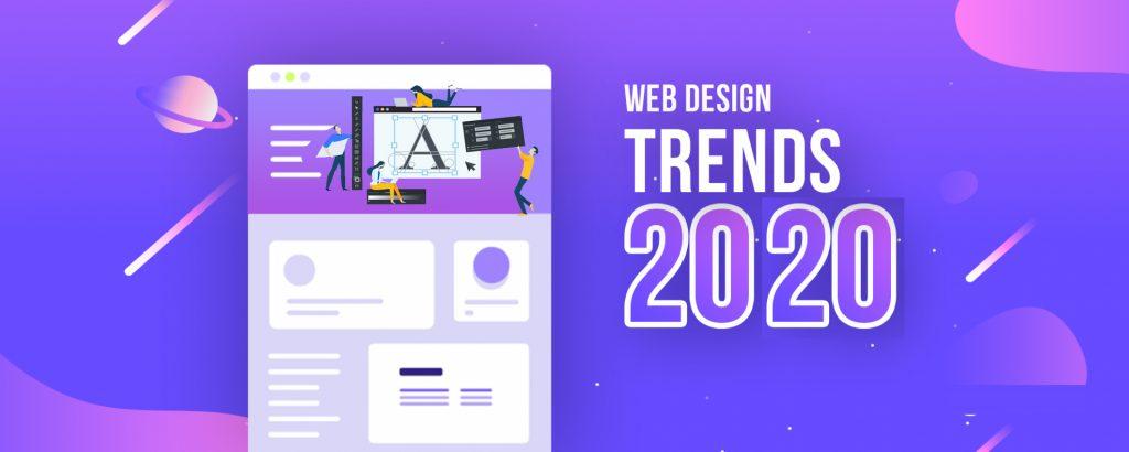 آشنایی با ترندهای طراحی سایت در سال 2020