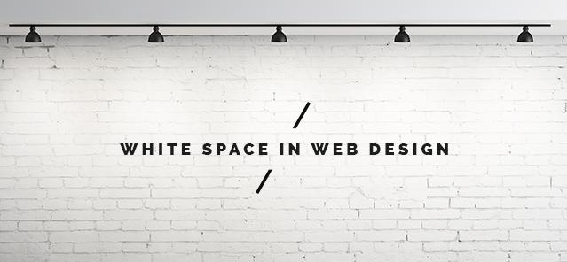 آشنایی با استفاده از فضاهای خالی در طراحی سایت