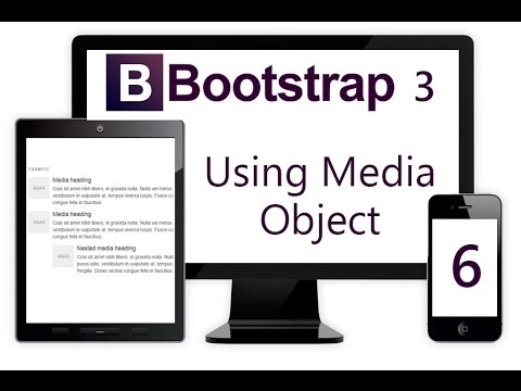 آبجکت های رسانه در Bootstrap
