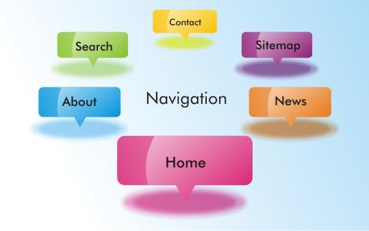 9 روش کارآمد برای طراحی منوی وب سایت