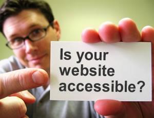 توصیه هایی به وبمسترها برای ایجاد سایت های قابل دسترس