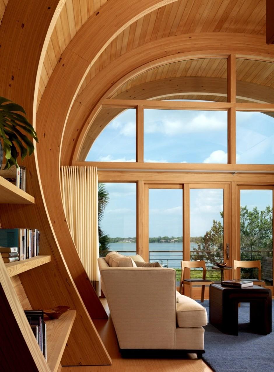 چوب در روند ساخت و ساز خانه های چوبی و کلیه های چوبی