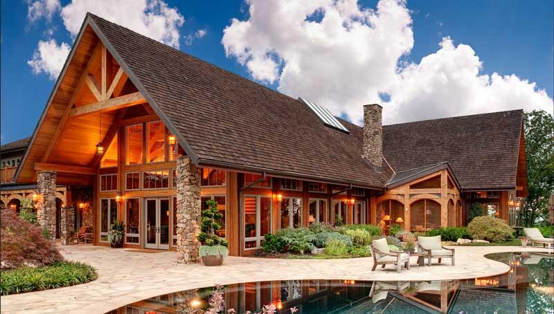 دیگرمزایای ساخت خانه چوبی