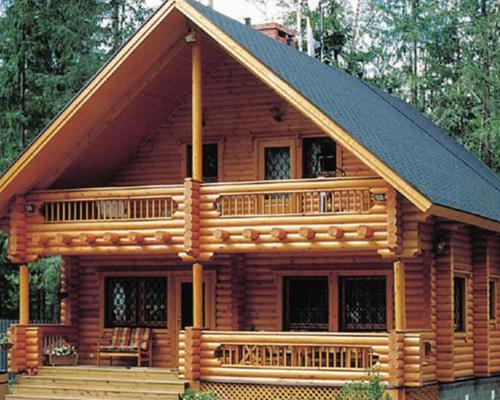 ضد زلزله بودن خانه های چوبی