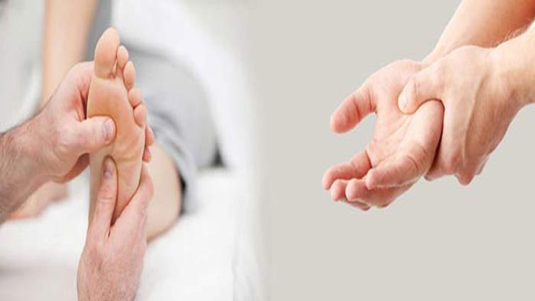 گزگز و خواب رفتن دست و پا