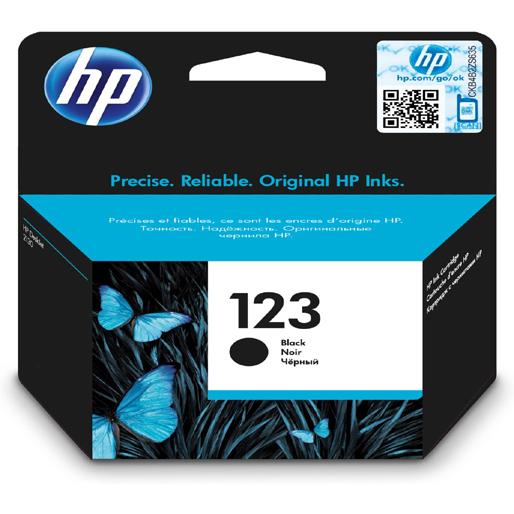 HP 123black